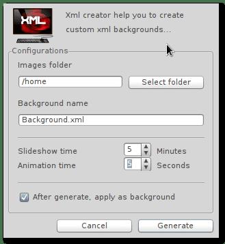 XML Background Creator