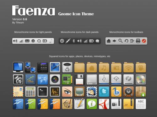 Repositorios PPA para Faenza Icons
