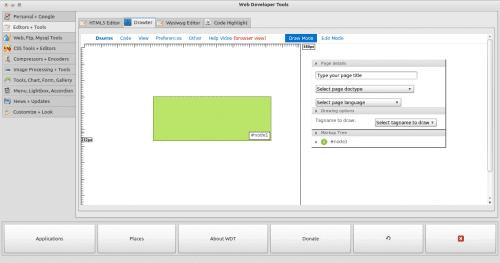WDT, una impresionante herramienta para desarrolladores web