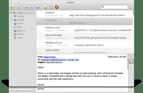 Postler - Elementary OS