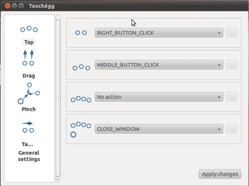 [Configuration] Configure libinput-gestures in kcm-touchpad • KDE