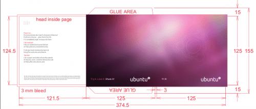 Carátulas de cd oficiales para Ubuntu 11.10, Oneiric Ocelot