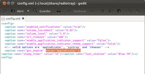 Habilitar Radio Tray en la bandeja del sistema en Ubuntu 11.10