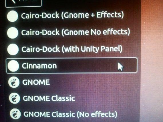 Inicio de sesión con Cinnamon