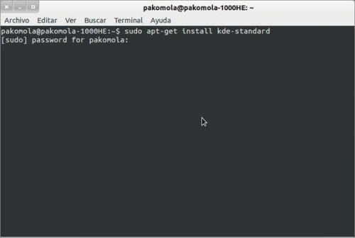 KDE en Ubuntu 12 04