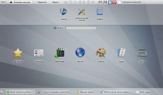 Escritorio KDE en Ubuntu 12 04