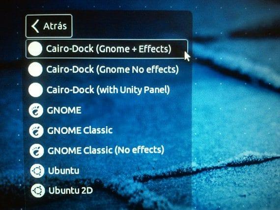 Pantalla de inicio de sesión en Ubuntu 12.04
