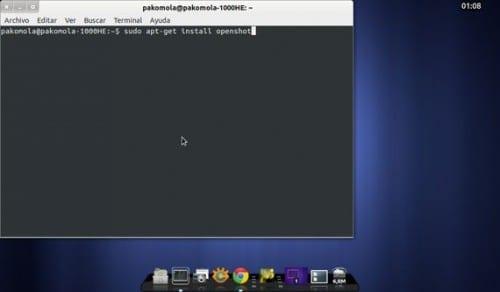 Instalando OpenShot