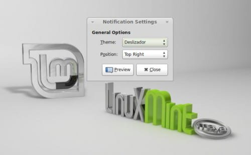 Notificaciones Emergentes en Linux Mint 13 Maya