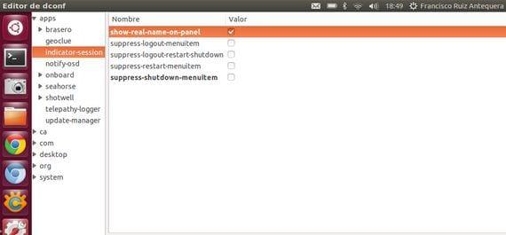 Mostrar control de cuentas de usuario
