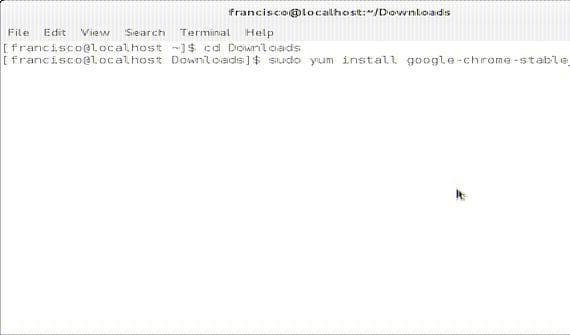 Cómo instalar Google Chrome en Fedora/Open Suse