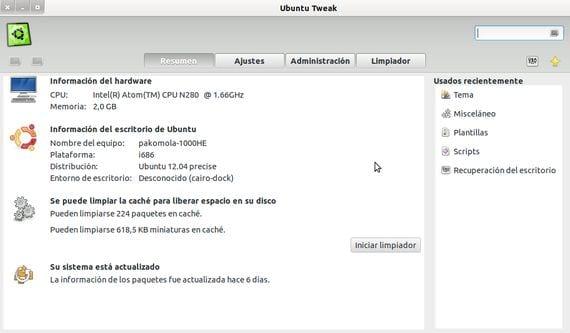 Cómo instalar ubuntu-tweak en Ubuntu 12.04