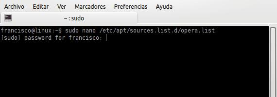 Opera Ubuntu