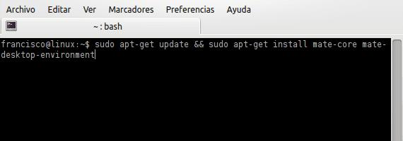 MATE 1.4 en Ubuntu