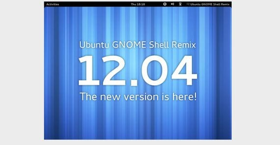 Ubuntu GNOME Shell Remix