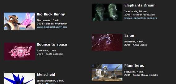 Blender 2.64a, modelado, animación y creación de gráficos tridimensionales.