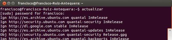Creando comandos personalizados en Ubuntu