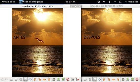 Gimp Resynthesizer, elimina cualquier parte de una imagen