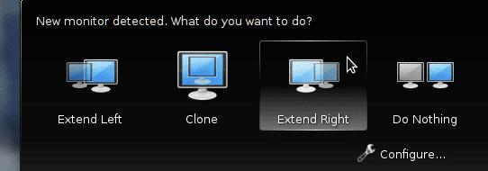 KDE 4.10 configuración monitores