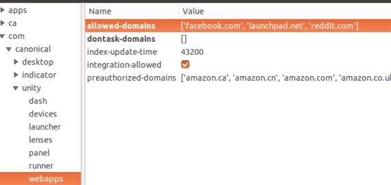 Ubuntu desinstalación webapps