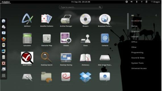 Gnome 3.8 abandona el soporte al escritorio clásico