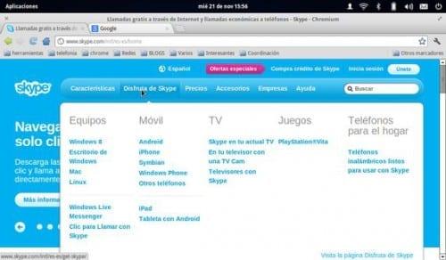 Instalando Skype, (última versión), en Debian, Ubuntu y derivados