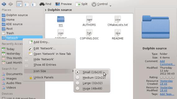 KDE 4.10 Dolphin 2.2