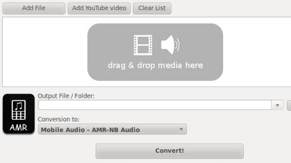 Ubuntu Mobile Media Converter