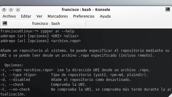 openSUSE Zypper añadir repositorios