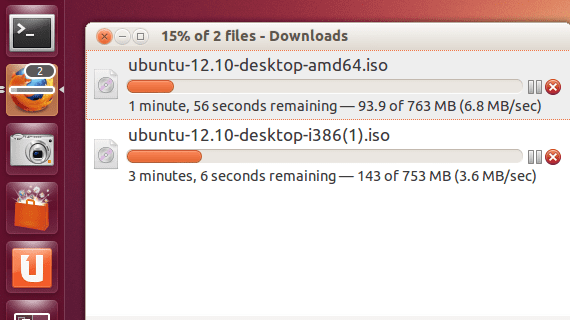Descargar de Firefox en Unity