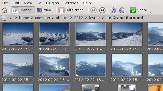 Gwenview 2.10 KDE SC 4.10