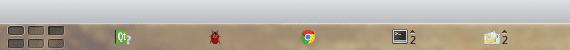 KDE Barra de tareas