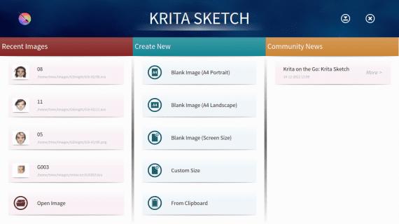 Krita Sketch