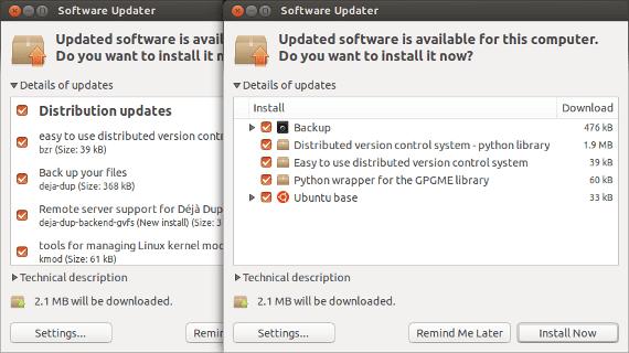 Gestor de actualizaciones en Ubuntu 13.04