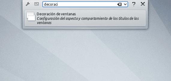 KDE Menús aplicaciones