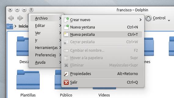 KDE Appmenu