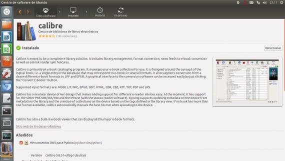 Gestión de nuestros e-readers con Calibre