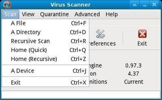 ClamTk: limpieza de virus gratuita en Ubuntu