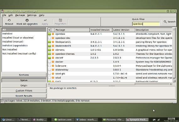 Synaptic, un gestor debianita en Ubuntu