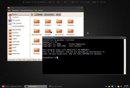 Thunar como gestor de archivos en Ubuntu