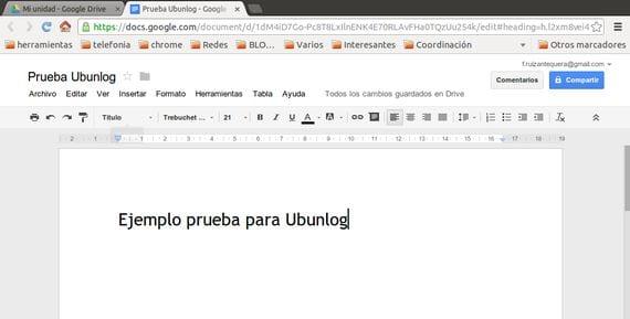 Cómo acceder fácilmente a tus contenidos de Google Drive desde Ubuntu 13.04