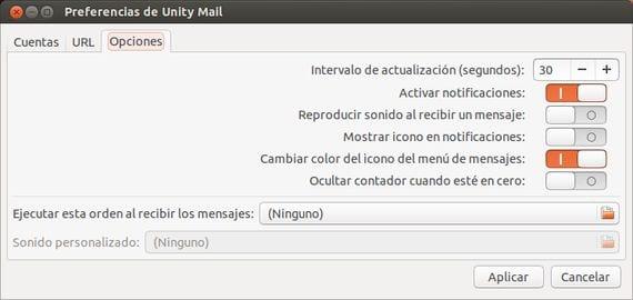 Cómo integrar las notificaciones de Gmail en el escritorio Unity