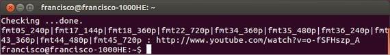 Cómo usar la terminal para bajarnos vídeos flash