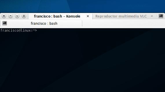 KDE Agrupar ventanas en pestañas