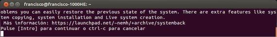 Systemback, otra herramienta útil para copias de seguridad y más...
