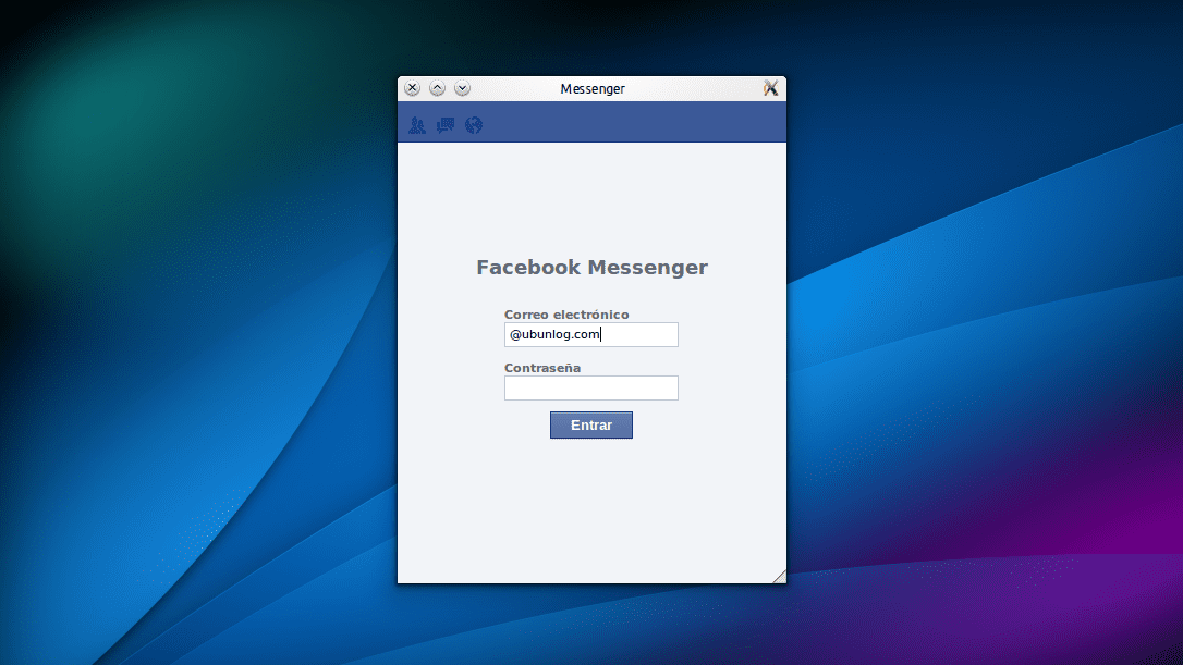 FBMessenger, Facebook Messenger para Linux