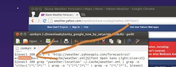 Google Now para Conky, un diseño atípico