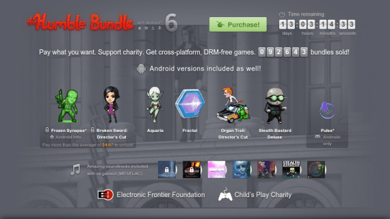 The Humble Bundle with Android 6