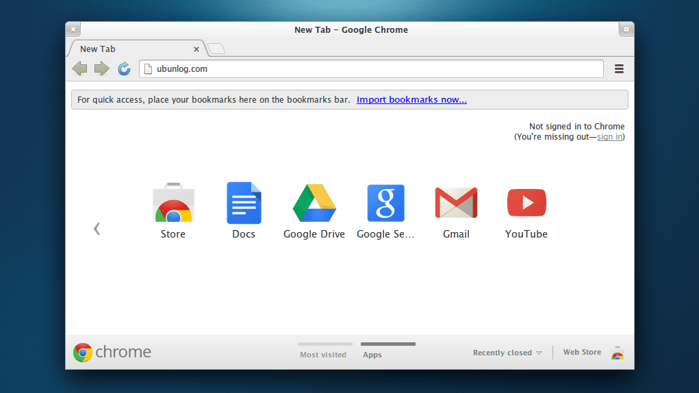 Google Chrome en Ubuntu