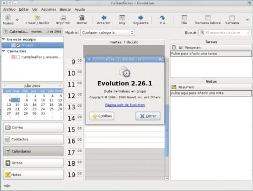 Evolution, una herramienta para nuestro correo